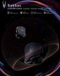 True Wireless Headphones Earphones Sabbat E12 Ultra Cosmos Series